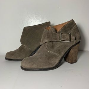 Lucky Brand suede Mickie boots